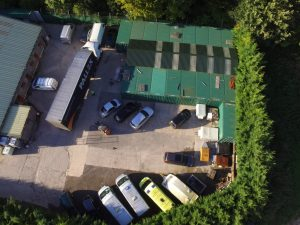 Outdoor self storage in Blandford, Dorset