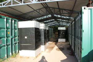 Secure outdoor storage in Blandford Forum