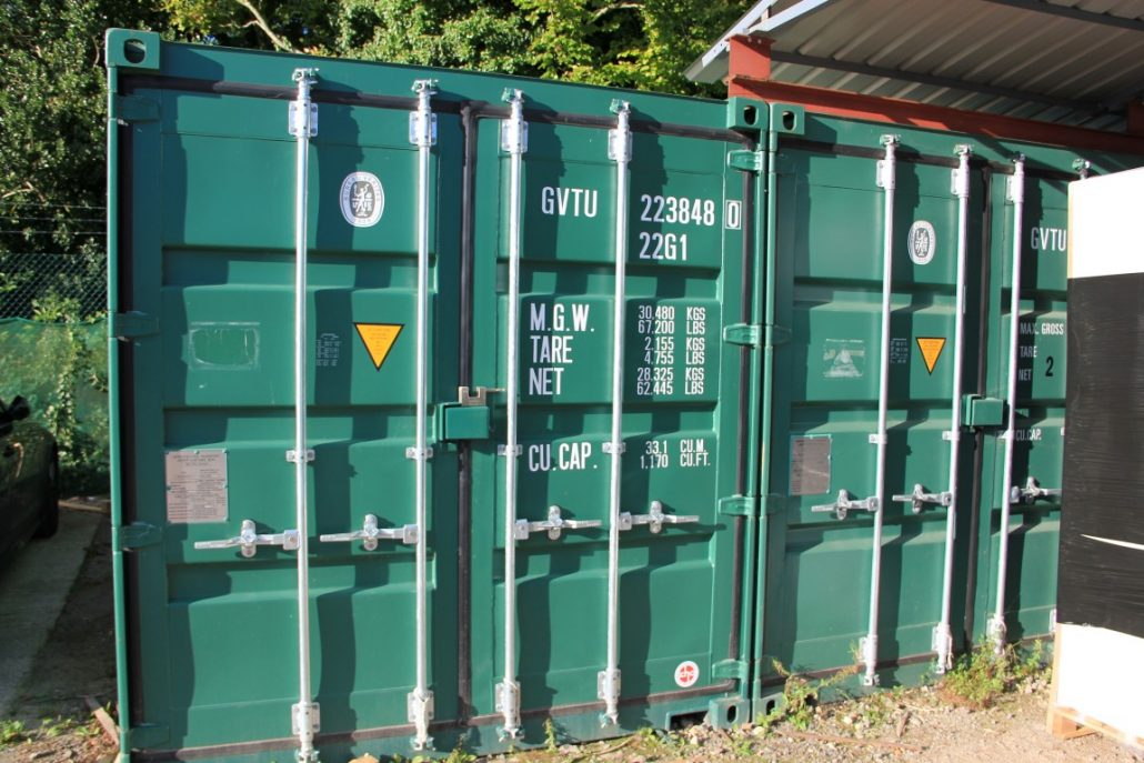 Outdoor self storage in Blandford Forum